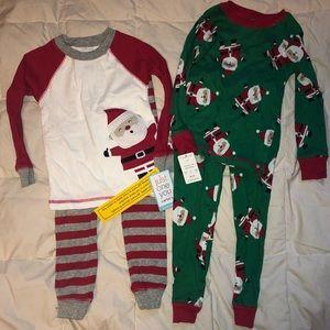 Bundle of Christmas Pajamas 2T